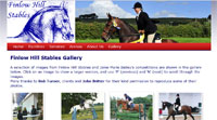 Jaine Bailey Dressage website