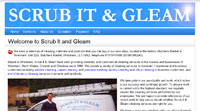Scrub It and Gleam website